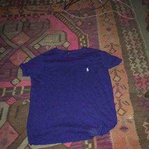 Tops - Blue Ralph Lauren Polo Shirt